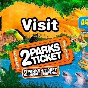 2 Park Ticket Aqualand and Jungle Park Tenerife