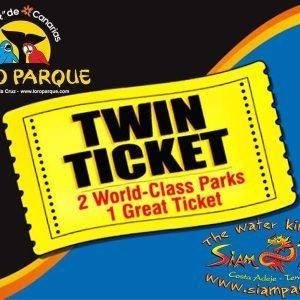 Loro Parque Twin Ticket Siam Park Tenerife Book Online