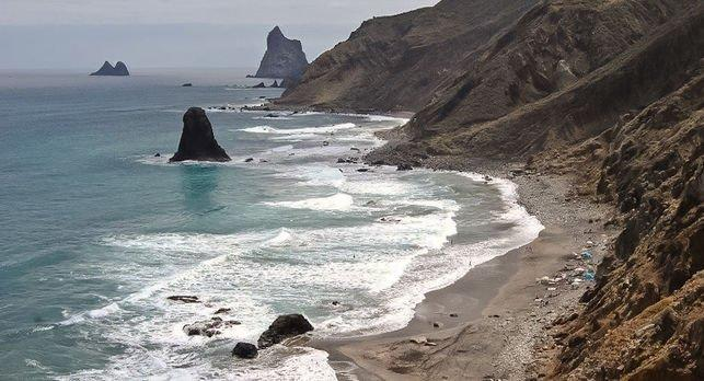 Playa de Benijo, in the Anaga Natural Park. Tenerife Direct Excursions & Activities.